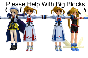 MMD Newcomers From Magical... by Anime-Base-Creator