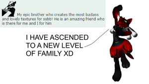 How To react to being added into someones family by DarkClaw154