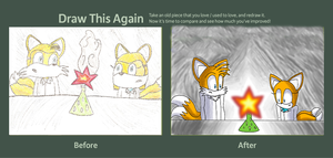 Tails and Miley, Experiment Gone Wrong, DTA Entry by chaosisters147