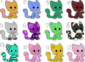 Cat Adopts (open) by jae-adopts