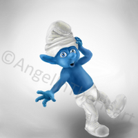 Smurf by AngelInTheHeart