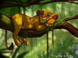 Lazy days by tigon