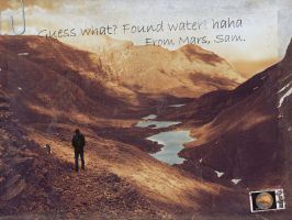 Water in Mars by pedrosampaio