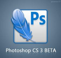 Adobe Photoshop CS3 Beta icon by proenca