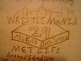 Welcome to WrestleMania 29 by RollerCoasterViper59