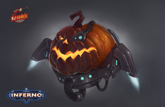 Pumpkin Concept by enterry