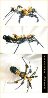 Bionicle MOC- Arachne Queen by StarBugs97