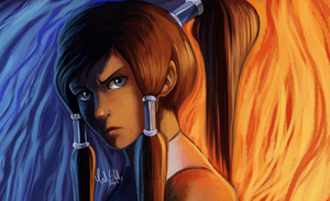 Korra by CuteSkitty