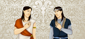 The Silmarillion: Twins by melliMEL