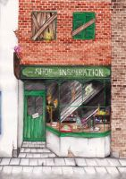 The Shop of Inspiration by LacernellaRubra