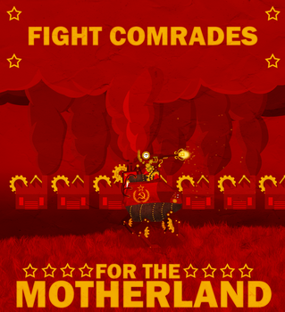Fight for the Motherland by Grouwel