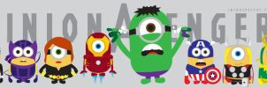 Minion Avengers by IntroSpect37
