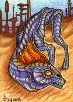 ACEO trade: Tsoa by VentralHound