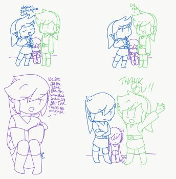 Smarter Link- We are all the Same by Deviant-Shadow-Link