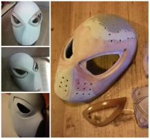 Spider-Man Undershell Mask by VictorWilliams