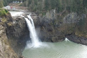 Snoqualmie Falls Wide Shot by Bspacewiz2