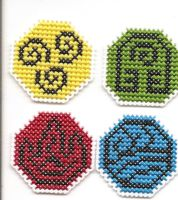 Avatar Bender Emblems by Sew-Madd