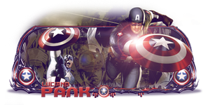 Captain American by Luciano246BR