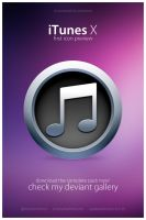iTunes X by victoranselme