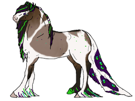 Pavo Equine: Sold Rowgofdarkness by Justalittlelost