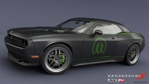 Challenger SRT8 green mod 2 by RJamp