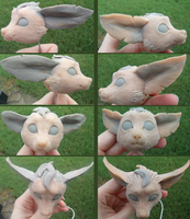 Leafeon - WIPs by Khrests