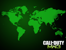 World Map - MW3 Wallpaper by NeqKo