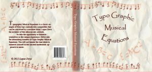 Typography CD Cover by Lupas-Deva