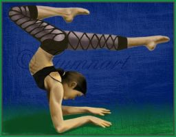 Bend Me More--Roonah by Gymnart