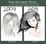 Meme: Before And After by lucidlydia