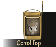 my little bioshock - Carrot Top message icon by MetaDragonArt