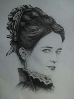 Eva Green as Vanessa Ives, Penny Dreadful by pollyUK