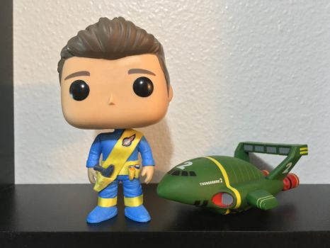 Thunderbirds Virgil Tracy Pop! Figure In Uniform by NumairSalmalin