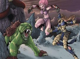 Motu : Cat Fight Part 2 by Killersha
