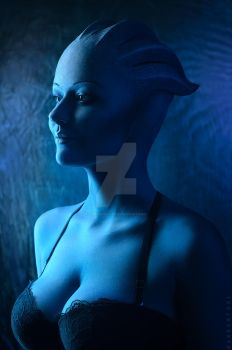 Asari portraet by EkaterinaFr