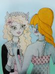 Monster High somewhat of a fanfiction - Lagoona by Kairix13