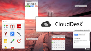 CloudDesk -  Online Desktop v5.0 by DaKoder
