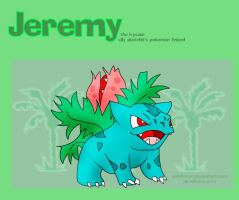 Jeremy the Ivysaur by airlobster