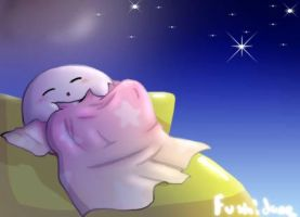 Good night Kirby by Fushidane