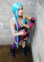 Jinx League of Legends Cosplay Preview 2 by MelodyxNya