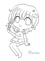 KaiStar - Lineart by Hatty-hime