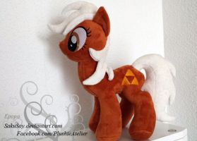 Ponified Epona Plushy by SakuSay