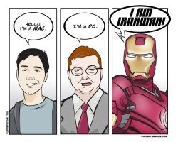 IRON MAN - Mac Parody by PolishTamales