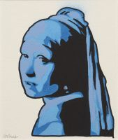 Girl With the Pearl Earring by Jbaileyrowe