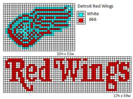 Detroit Red Wings by cdbvulpix