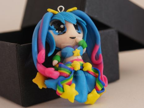 Arcarde Sona charm - League of Legends by Aurumorea