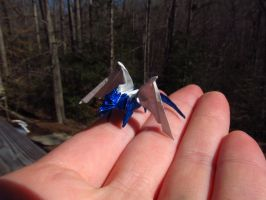 Tiny Origami Dragon by OrigamiPhoenix