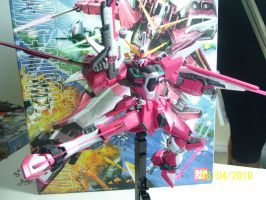 Infinite Justice MG Ver. B by Renegade-V