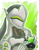 Overwatch: Genji by Israel42