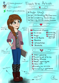 Meet the Artist - Kay (Wait what?) by MissKaytheLaReveuse